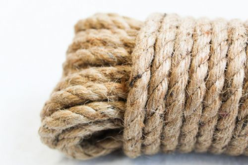 Natural Jute Thick Rope 15 Metres x 8mm
